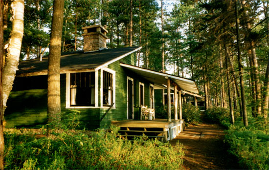 Cabin 3 an adirondack great camp cabin situated less than for Adirondack cabin plans