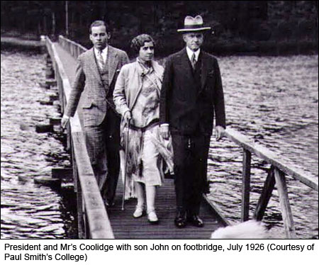 Coolidge's & Dogs on Bridge