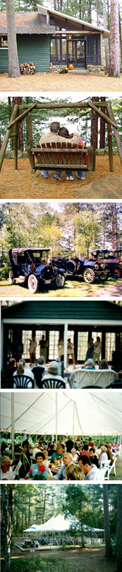 White Pine Camp Weddings, Family Reunions, Retreats